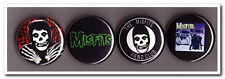 THE MISFITS Buttons Pins Badges 4 punk rock samhain danzig horror