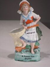 +# A014789 Goebel Archivmuster, A Present from Brighton, 2129 Mädchen m. Vase