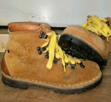 Kinney Colorado Hiking Vtg Boots Italy Leather Mountaineering Shoe Vibram Sole