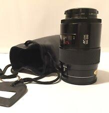 Minolta AF Lens 100-200mm 1:45  22 Maxxum With Protection Bag