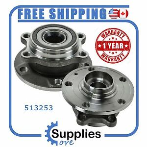 Pair (2) New Wheel Hub Bearing Assembly with One Year Warranty (513253)