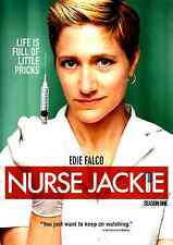 Nurse Jackie The Complete Season One, 3 DVD Set - Season 1 Edie Falco NYC  Drugs