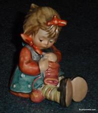 "Goebel Hummel Figurine ""KNIT ONE PURL ONE"" #432 TMK6 - MINT CONDITION GIFT!"