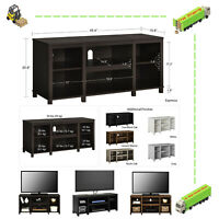 """50"""" Wooden TV Stand Entertainment PS4 Games Center Living Room Storage Holder"""