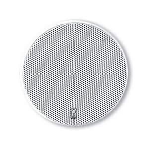 """Poly-Planar 5-1/4"""" Platinum Round Marine Speaker Pr White #MA6500W"""