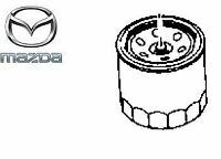 Genuine Mazda CX-5 2012-2017 Petrol Engine Oil Filter Cartridge - PE0114302B9A