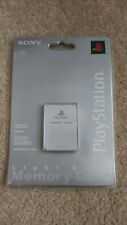 Sony Scph-1020 UHI 94032 Genuine PlayStation Ps1 Memory Card White