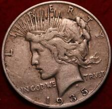 1935-S San Francisco Mint Silver Peace Dollar