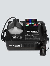 Chauvet Geyser Rgb Jnr vertical de humo CO2 Efecto Niebla Control Remoto Inalámbrico para Máquina Inc