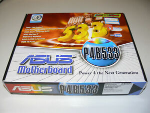ASUS P4B533 Motherboard Mainboard P4 INTEL Sockel 478 Neu