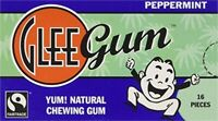 Glee Gum Gum Peppermint, PartNo 212166, by Glee Gum, Single case of 12