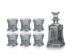 Set, Karaffe + 6 Gläser, 24% Bleikristall, Serie Imperial, Bohemia Kristall, NEU
