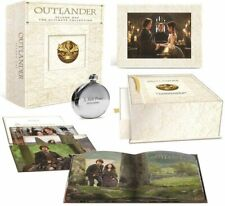 Outlander: Season One (Blu-ray + Limited Edition Keepsake Box and Flask) NEW!