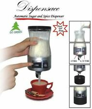 Automatic Sugar and Spice Dispenser 1 or 1/2 Tablespoon at the push of a button