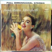ANNA MARIA ALBERGHETTI warm and willing LP VG ST-1379 Stereo USA 1960 Record