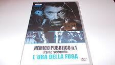 Nemico pubblico n.1 - parte seconda. 2  l'ora della fuga (edit) Dvd ..... Nuovo