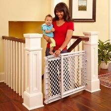 Cheap Baby Gates With Door Opening For Stairs Toddler Hardware Mounted Swing Pet