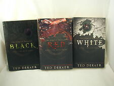 Ted Dekker The Circle Trilogy Black Red White Christian Science Fiction