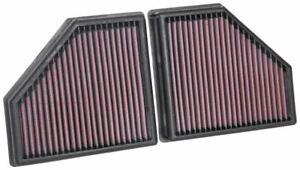 K&N 33-5086 Air Filtre Pour BMW 750i L6-4.4L F/I ; 2016-2019