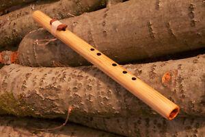 Indianerflöte F# 440Hz Native American style Flöte aus Fichten Holz