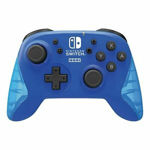 Nintendo Switch Wireless Horipad Blue Controller Kabellos NEU OVP