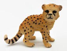 Schleich Baby Cheetah Cat Cub Wild Animal Figure Pretend Play Toy