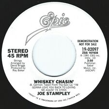 JOE STAMPLEY Whiskey Chasin' ((**NEW 45 DJ**)) from 1981