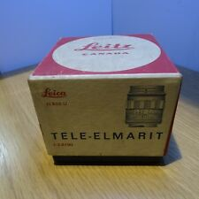 Empty box for Leica Leitz  11800 U 90mm F2.8 Lens (vintage box for collector)