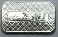 SILVERTOWNE MINT Retro Eagle & SHIELD 1 OZ .999 Silver Bar , No Reserve!