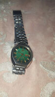 VINTAGE FROM 90s ORIENT CRYSTAL AUTOMATIC 21 JEWELS DAY-DATE MEN'S  WATCH