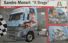 "NEW IN BOX-SANDRO MUNARI ""IL DRAGO""NO:3849 1:24 SCALE-VOLVO FH16 TRUCK-FREE POST"