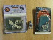 Magic the Gathering Collectible Miniature, Grenadier Cliff Dragon, and One Extra