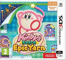 Kirby's Extra Epic Yarn Nintendo 3DS New & Sealed In stock now