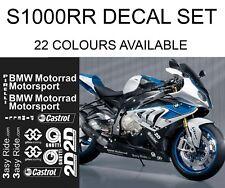 Motorbike Decals to fit BMW S1000rr Belly Pan Fairings Helmet Stickers Tank Bike