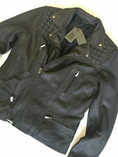 AllSaints Zip Leather Collared Coats & Jackets for Men