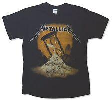 Metallica Hour Glass Black T Shirt New Official Adult Band Merch