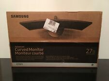 "Samsung CF591 Series 27"" LED Curved Monitor (C27F591FDN) New Open Box"