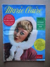 MARIE CLAIRE n°49 1957 Marlon Brando Miyoshi Umeki Anna Kasfhi   [D39]