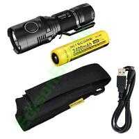NITECORE MH20 Cree LED 1000 Lumen USB Rechargeable Flashlight with 18650 NL189