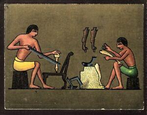Tobacco Card, Cavanders, ANCIENT EGYPT, 1928, Large, #18