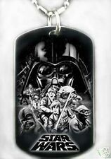 STAR WARS - Dog tag Necklace/Key chain + FREE ENGAVING