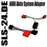 Aktiv-System-Adapter AUDI A2 A3 A4 A6 A8 Mini ISO 100W Aktivsystem Adapter 63009