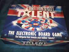 BRITAINS GOT TALENT-- THE ELECTRONIC FAMILY BOARD GAME BY DRUMOND PARK