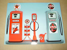 aimant MAGNET pompes à essence petrol pumps gas pump TEXACO CHIEF vintage USA