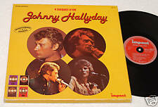 J.HALLYDAY:BOX(4LPs)4 DISQUES D'OR-ORIG.1977 NM CONDIT
