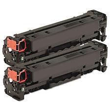 2pk CC530A (304A) Black Toner For HP Laserjet CP2025 CP2025n CM2320 CM2320n