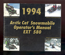1994 ARCTIC CAT / EXT 580 SNOWMOBILE OPERATOR`S MANUAL / PN2254-961