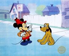 Mickey & Pluto: The Pointer, Limited Edition Sericel, Disney
