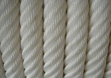 "1/2""x25' Twisted Three Strand Nylon Rope"