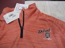 YOUTH BOYS/GIRLS UNDER ARMOUR DETROIT TIGERS 1/4 ZIP ORANGE YXL EXTRA LARGE NWT